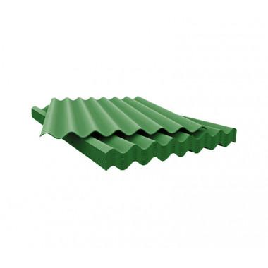 Шифер 7 волновый зеленый