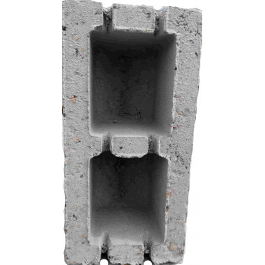 Керамзитоблок стеновой, 20х20х40
