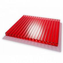Поликарбонат сотовый ULTRAMARIN красный 4мм