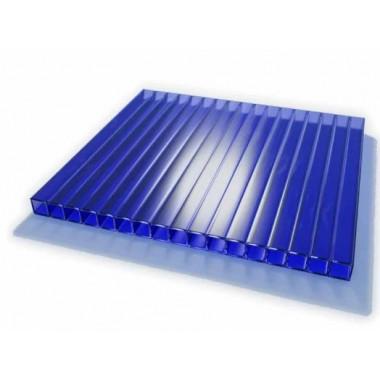 Поликарбонат сотовый ULTRAMARIN синий 4мм
