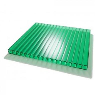 Поликарбонат сотовый ULTRAMARIN  зелёный 4мм