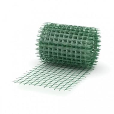 Сетка пластиковая 20х20, 1х25 м, зеленая