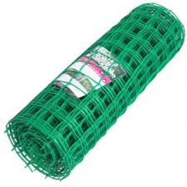 Сетка пластиковая 35х35, 1х25 м, зеленая