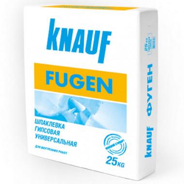 """Шпатлевка """"Кнауф"""" Фугенфюллер 25 кг, гипсовая базовая"""